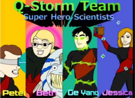 Q-Storm Superheroes